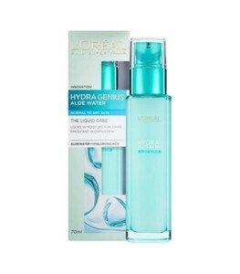 Hydra Genius Aloe Water Normal To Dry Skin - سرم آبرسان لورال مناسب پوستهای نرمال و خشک